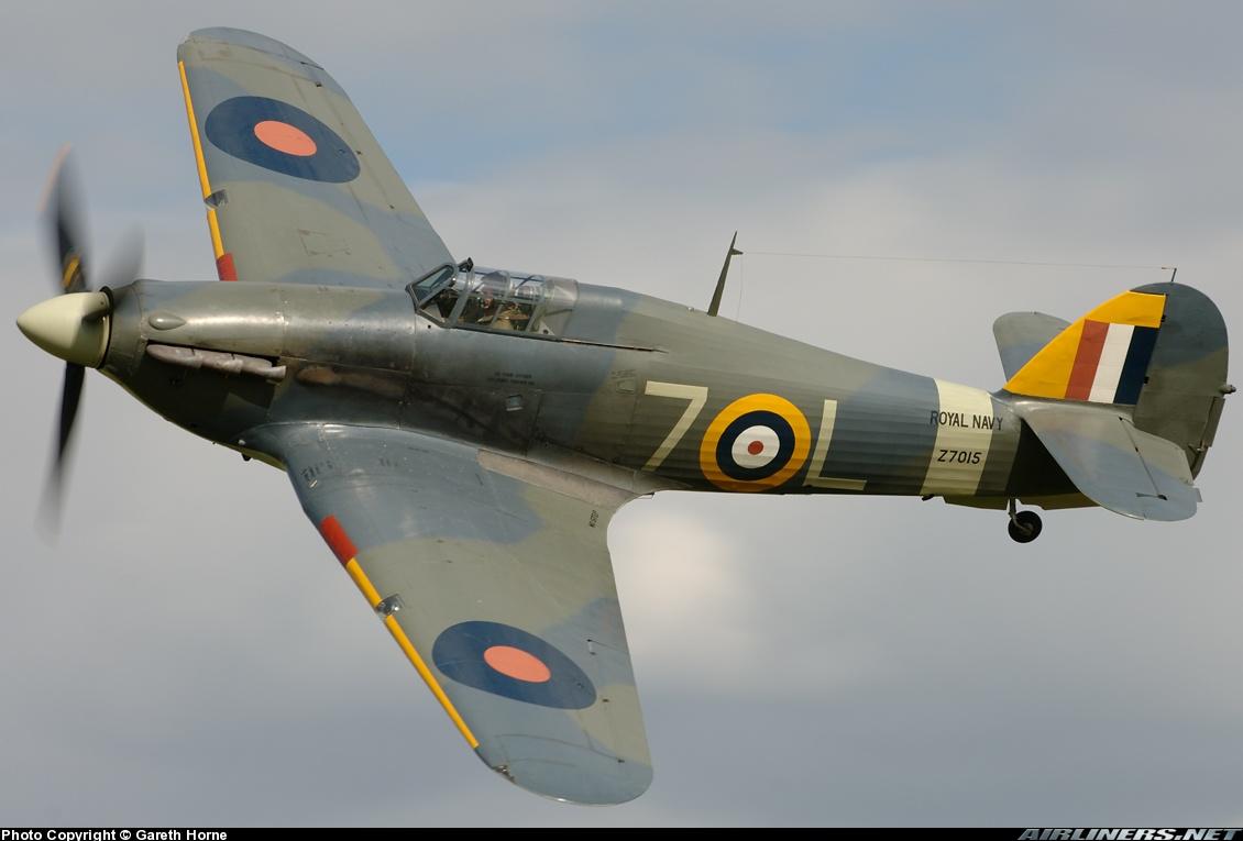 Airworthy Warbird Hawker Hurricane IIc RN 800NAS 7L Z7015 registered G BKTH 22