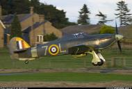 Asisbiz Airworthy Warbird Hawker Hurricane IIc RN 800NAS 7L Z7015 registered G BKTH 03