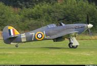 Asisbiz Airworthy Warbird Hawker Hurricane IIc RN 800NAS 7L Z7015 registered G BKTH 04