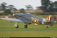 Asisbiz Airworthy Warbird Hawker Hurricane IIc RN 800NAS 7L Z7015 registered G BKTH 10