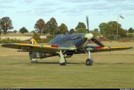 Asisbiz Airworthy Warbird Hawker Hurricane IIc RN 800NAS 7L Z7015 registered G BKTH 13