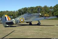 Asisbiz Airworthy Warbird Hawker Hurricane IIc RN 800NAS 7L Z7015 registered G BKTH 14