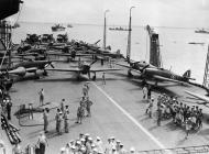 Asisbiz Fleet Air Arm Sea Hurricanes 6F 6J n 6R aboard HMS Indomitable Op Pedestal Malta 12th Aug 1942 IWM A11167