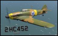 Asisbiz COD B1 Hurricane I FAF LeLv32 2 HC452 Lt Ruotsila Lappeenranta Finland Sep 1941 V0A