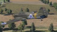 Asisbiz COD DR Hurricane I FAF LeLv32 5 HC452 Lappeenranta Finland Sep 1941 V0C