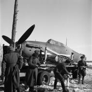 Asisbiz Hurricane I captured by Finish forces Tiiksjarvi 6th Apr 1942 01