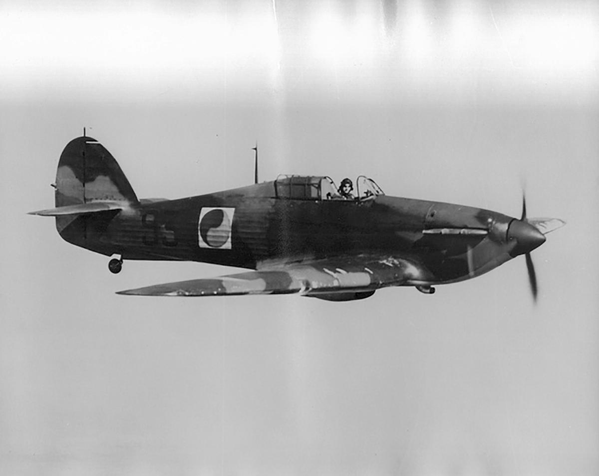 Hawker Hurricane I Irish AF P3416 Ireland 02