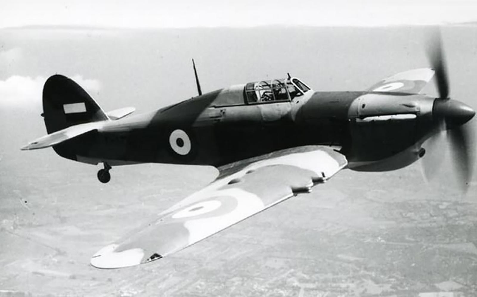 Hawker Hurricane IIc Imperial Iranian Air Force IIAF 01