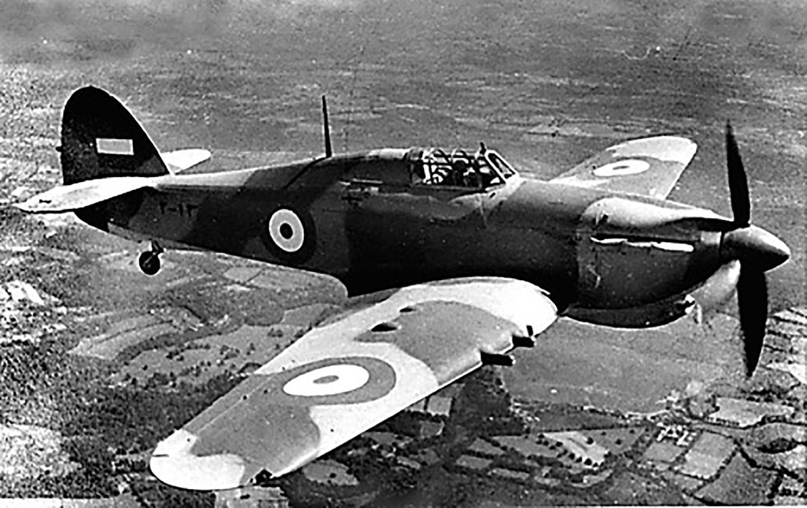 Hawker Hurricane IIc Imperial Iranian Air Force IIAF 02