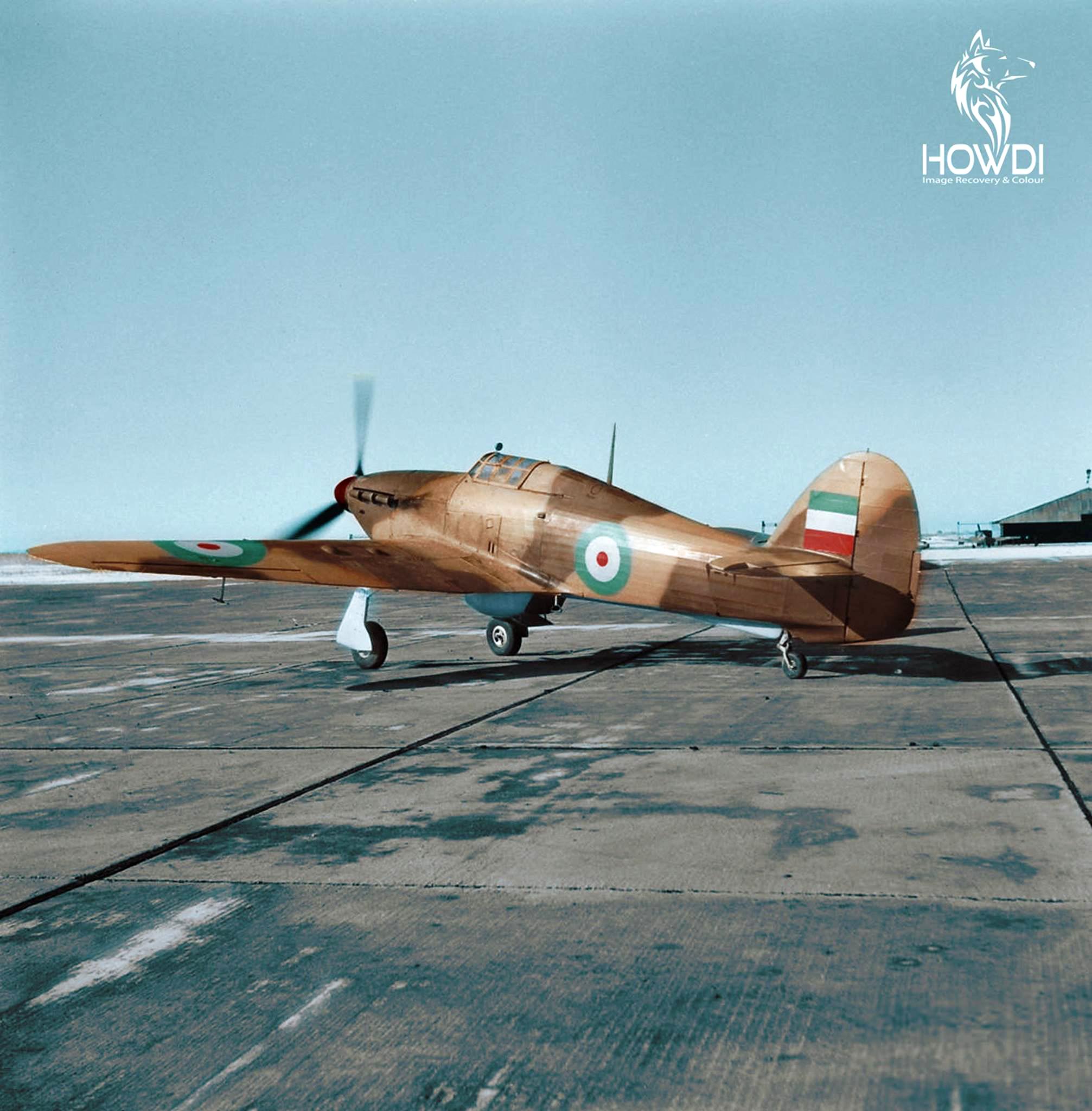 Hawker Hurricane IIc Imperial Iranian Air Force IIAF 03