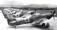 Asisbiz Hawker Hurricane I Irish AF line up 01