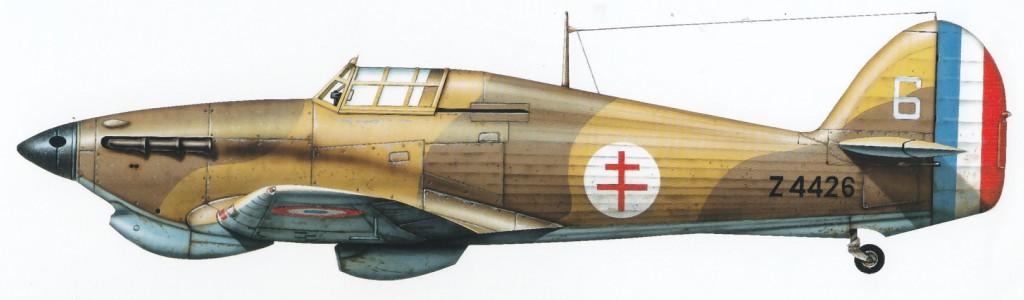 Hawker Hurricane I Trop Armee de lAir White 6 Z4426 1943 0A