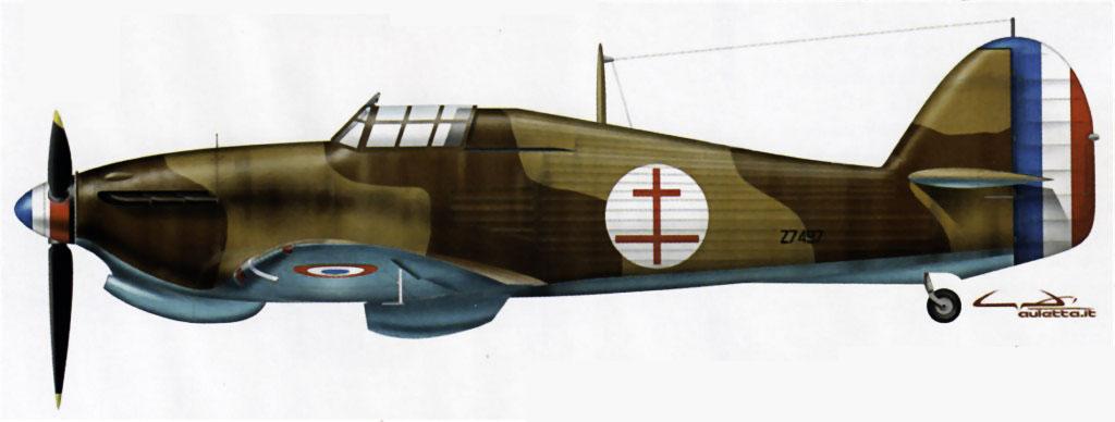 Hawker Hurricane I Trop Armee de lAir Z7497 1943 0A
