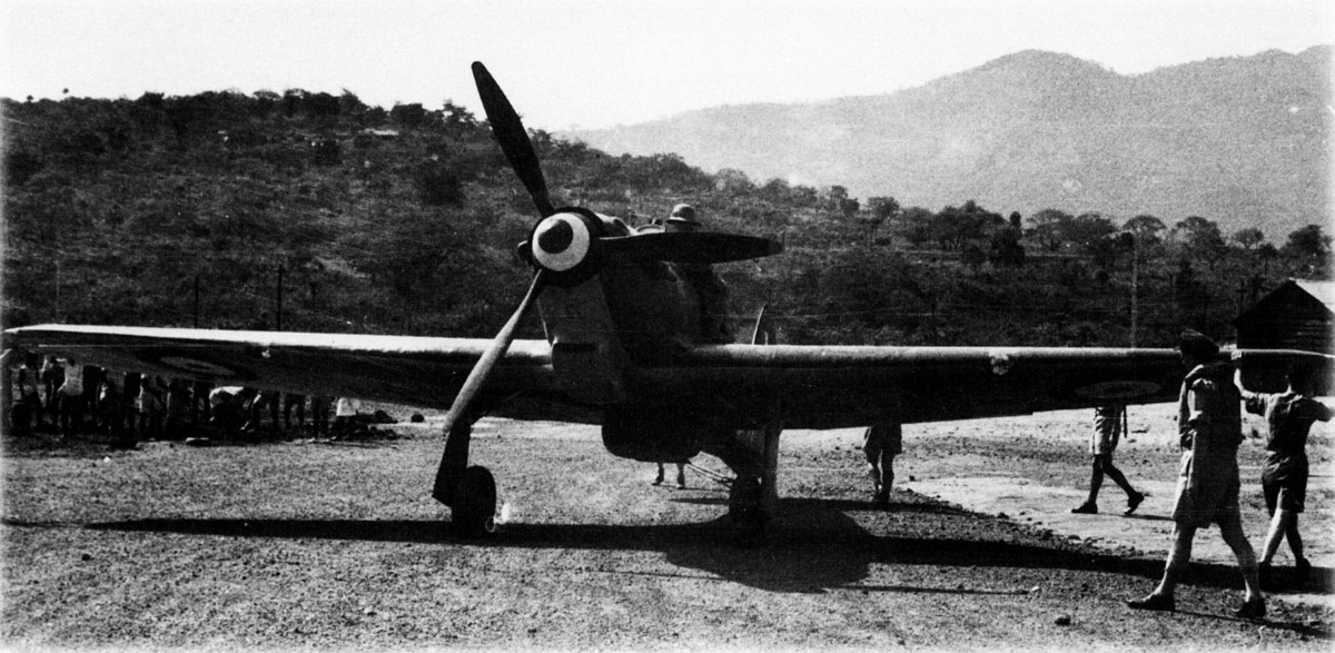 Hawker Hurricane II Trop being readied for comabt units Egypt 1941 03