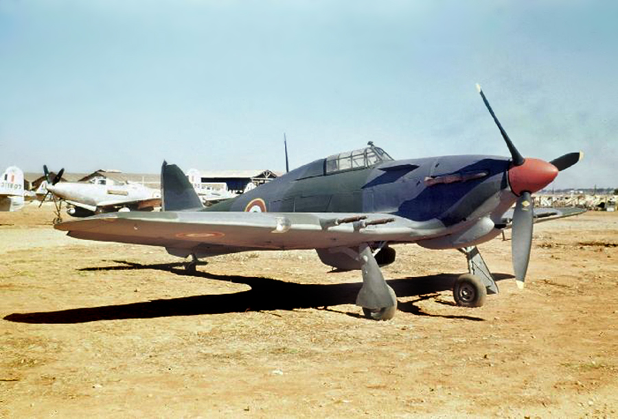 Hawker Hurricane IIc Free French 1946 01
