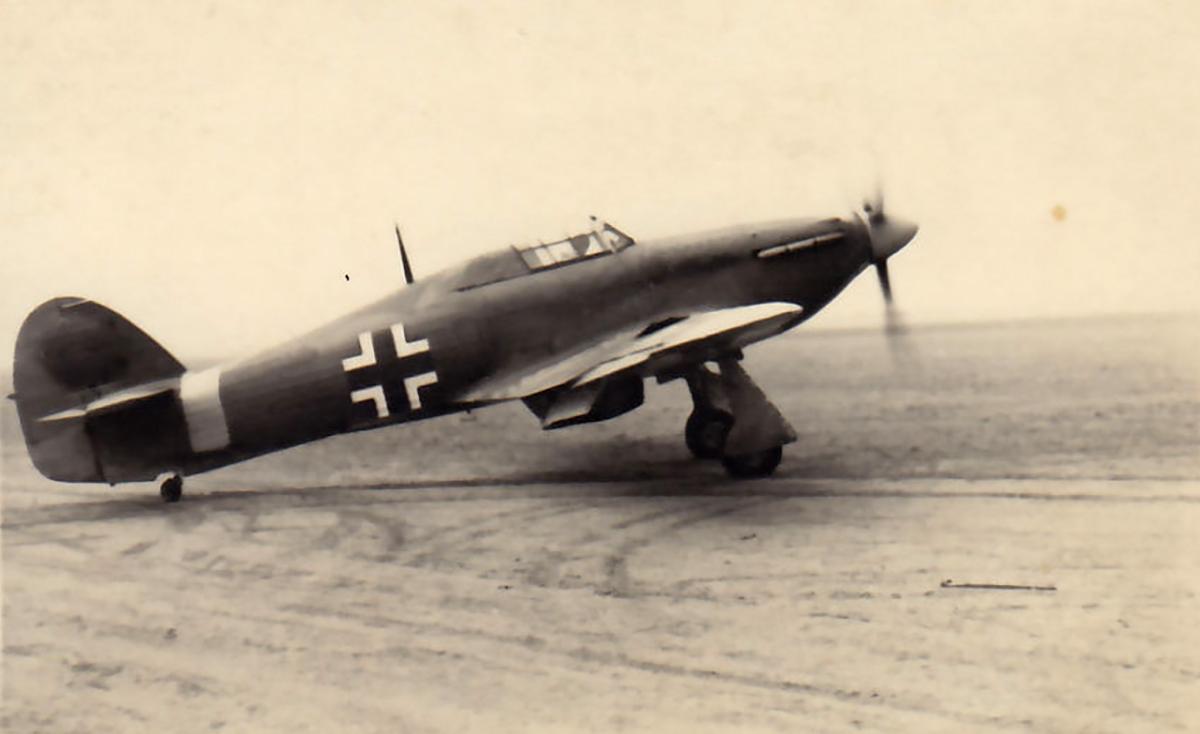 Captured Luftwaffe Hurricane Ia with JFS2 ebay 01