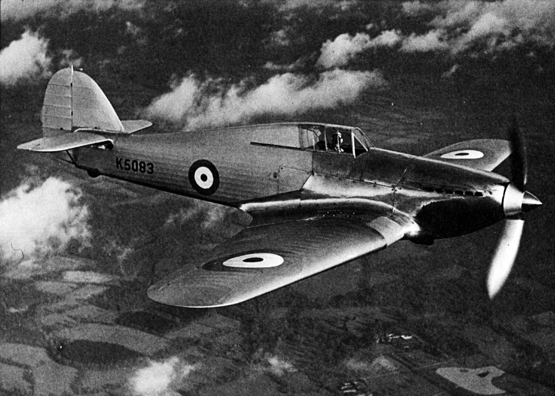 Hawker Hurricane I Prototype K5083 01