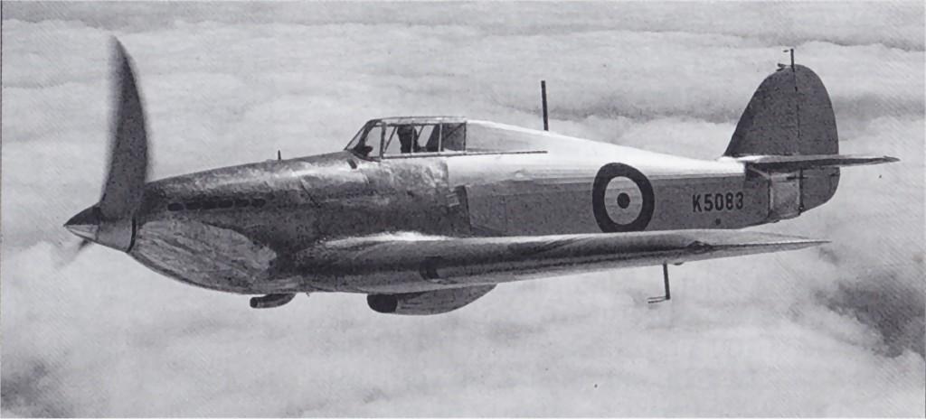 Hawker Hurricane I Prototype K5083 02