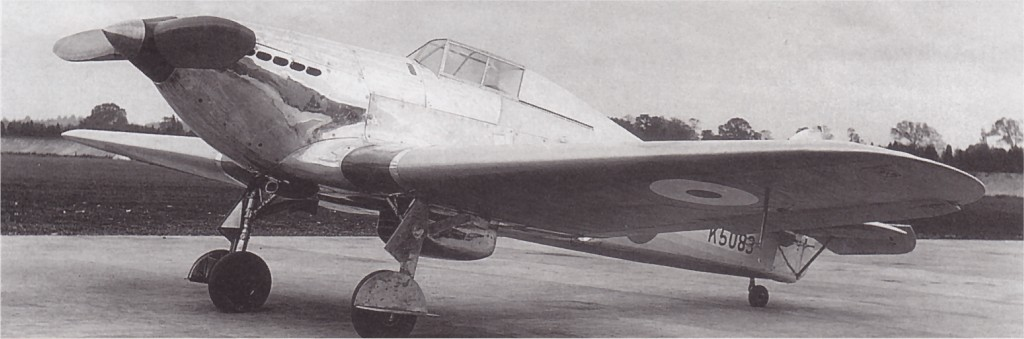 Hawker Hurricane I Prototype K5083 03