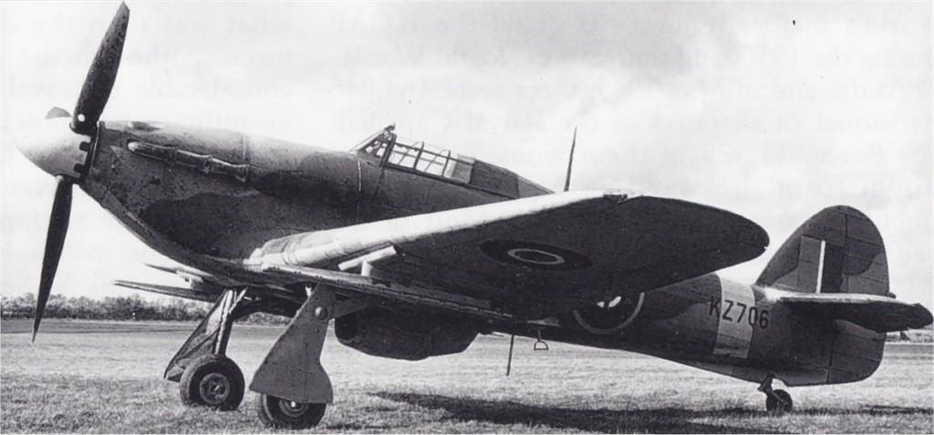 Hawker Hurricane II RAF KZ706 01