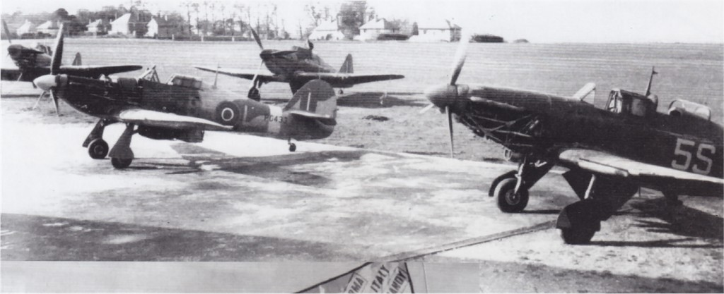 Hawker Hurricane IIc PG433 undergoing routine maintenance 01