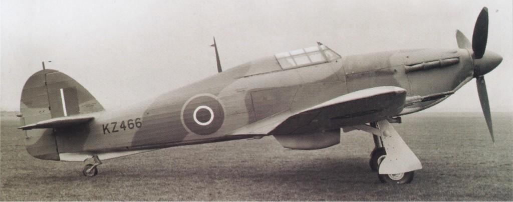 Hawker Hurricane IIc RAF KZ466 newly delivered 01
