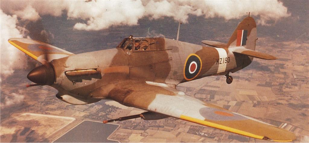 Hawker Hurricane IId Trop RAF KZ193 1941 01