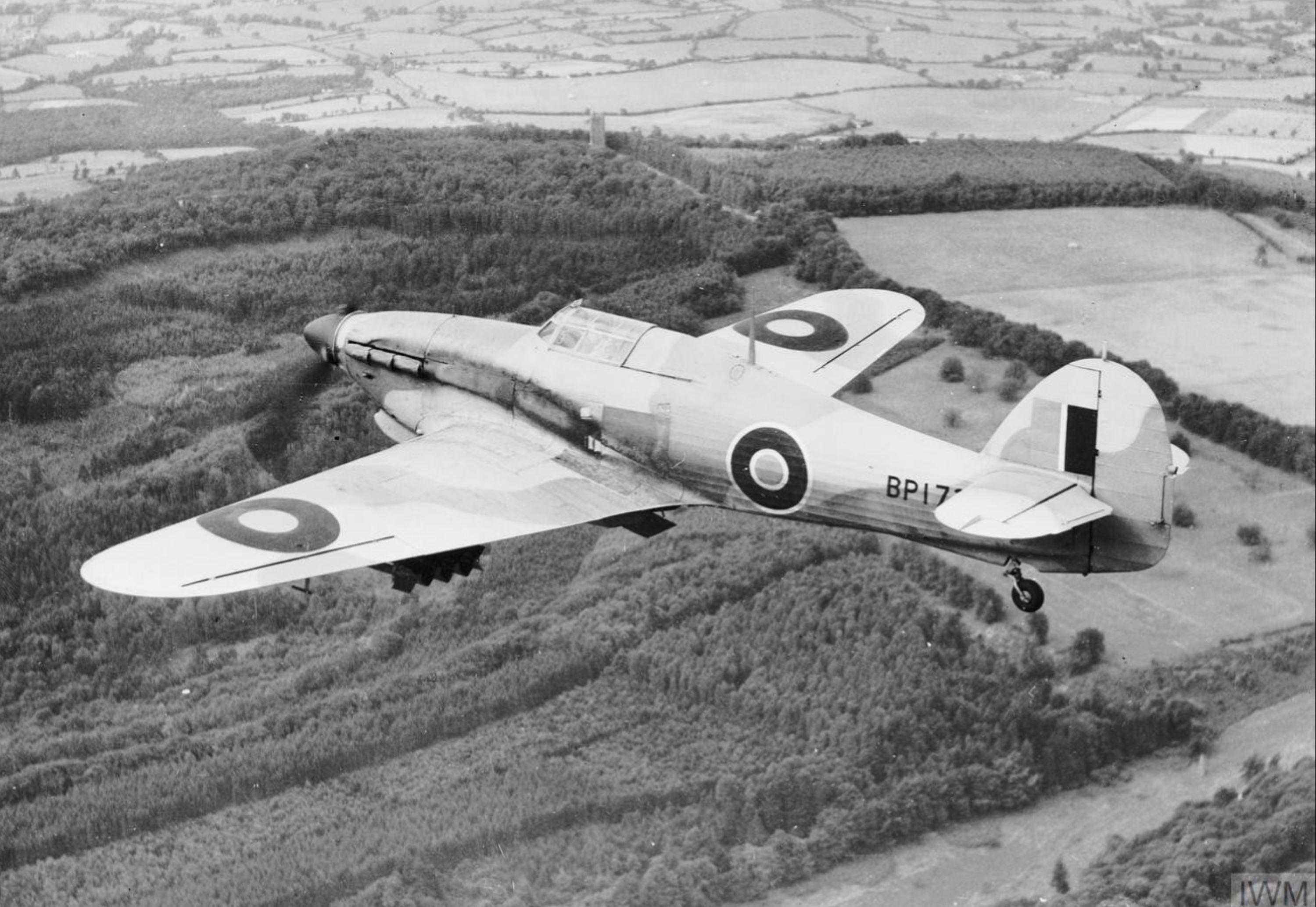 Hawker Hurricane IV RAF BP172 April 1943 IWM MH4943