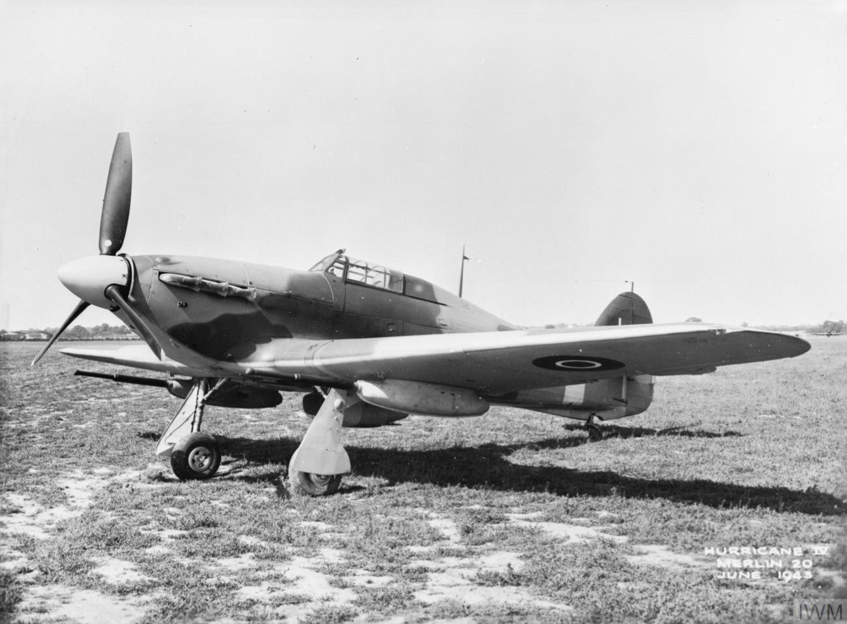 Hawker Hurricane IV RAF KX877 April 1943 IWM MH4942