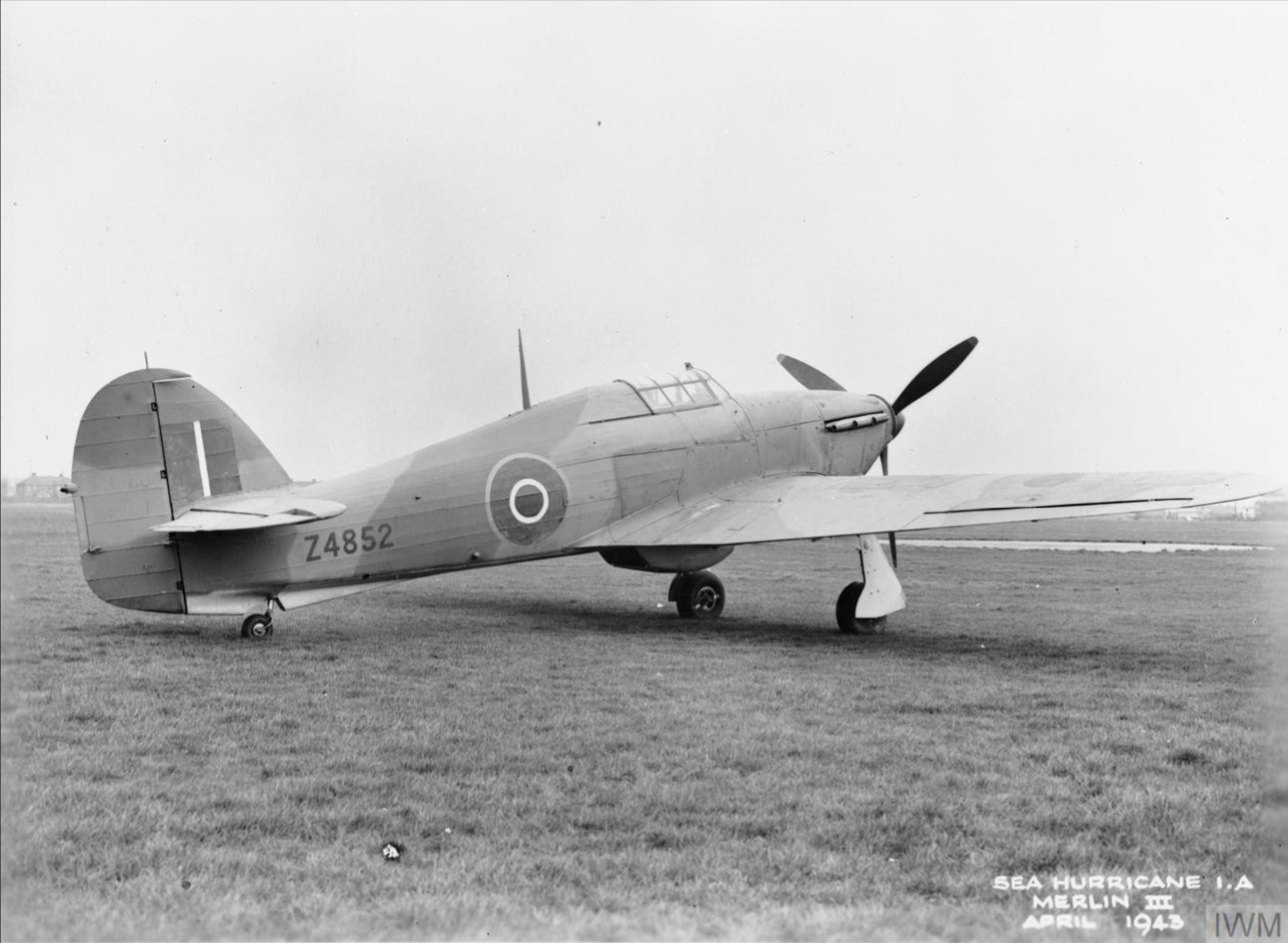 Hawker Hurricane IV RAF Z4852 April 1943 IWM MH4946