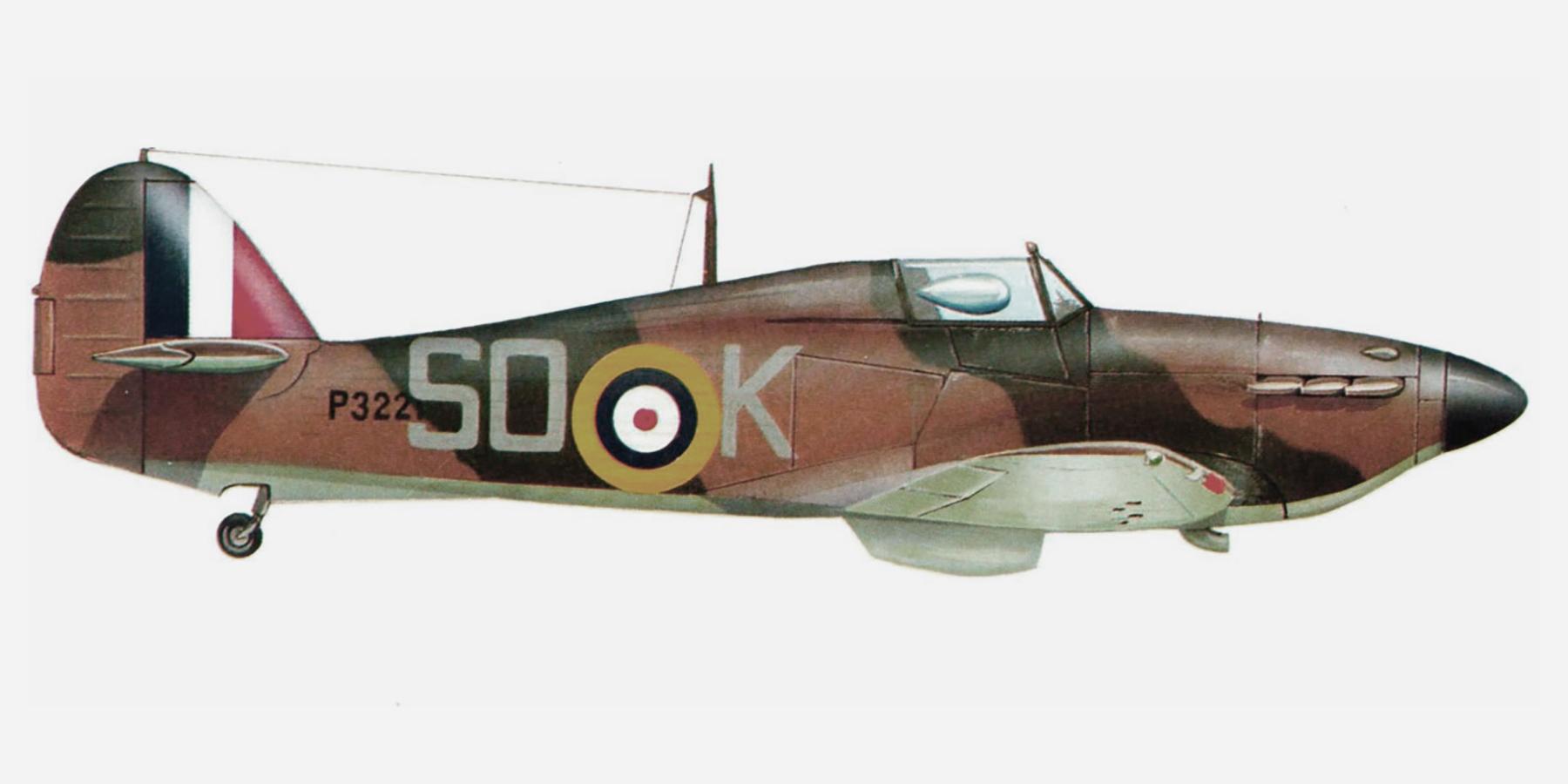 Hurricane I RAF 145Sqn SOK Adrian Boyd P3223 England 1940 0A