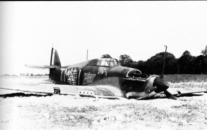 Hurricane I RAF 504Sqn TMI shot down Sedan France 1940 01