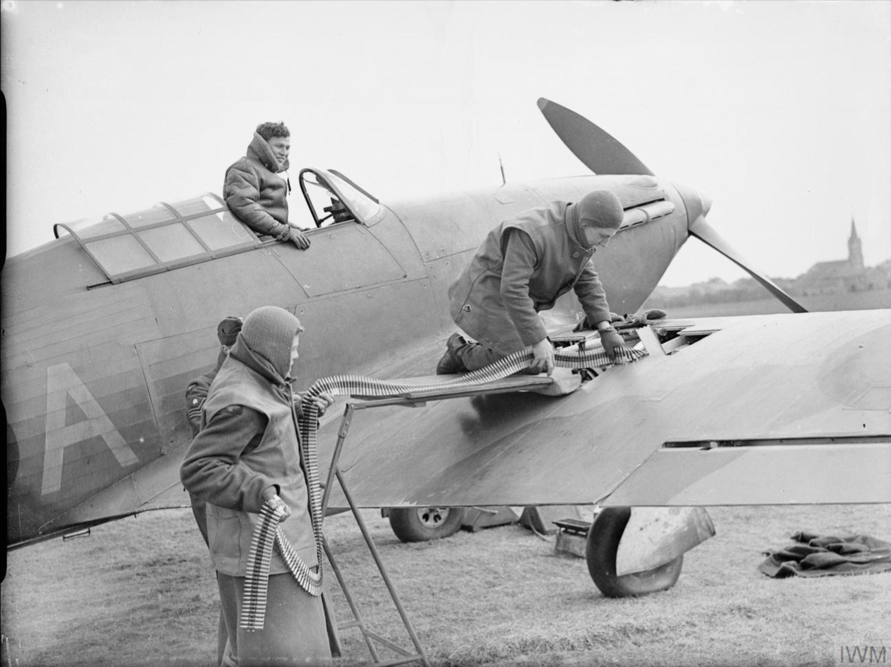 Hurricane I based in France 1939 IWM C737