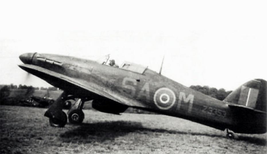 Hurricane II RAF 486Sqn SAM Nightfighter Z3353 based Wittering England 1940 01