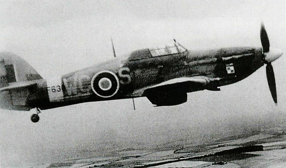 Hurricane IIc RAF 309Sqn WCS LF630 based at Peterhead 1944 01