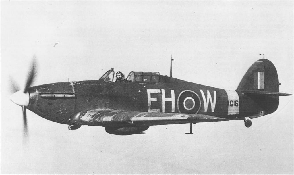 Hurricane X RAF 53OTU EHW AG162 or 55OTU Annan Dumfriesshire Scotland 1941 01