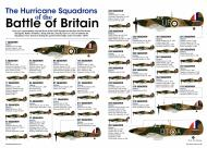 Asisbiz Artwork showing the RAFs Hurricane Squadrons duing the Battle of Britain by aviationclassics 0A