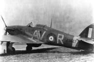 Asisbiz Hurricane II RAF 121Sqn AVR Carroll McColpin Z3427 01