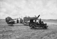 Asisbiz Hurricane IIc RAF 1697ADLS courier aircraft used during D day 03