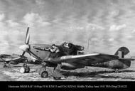 Asisbiz Hurricane IId RAF 164Sqn FJM KX413 and FJG KX561 Middle Wallop June 1943 IWM NegCH16223