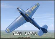 Asisbiz COD B1 Hurricane I No99 The Kings Cup Air Race G AMAU England 1950 V0A