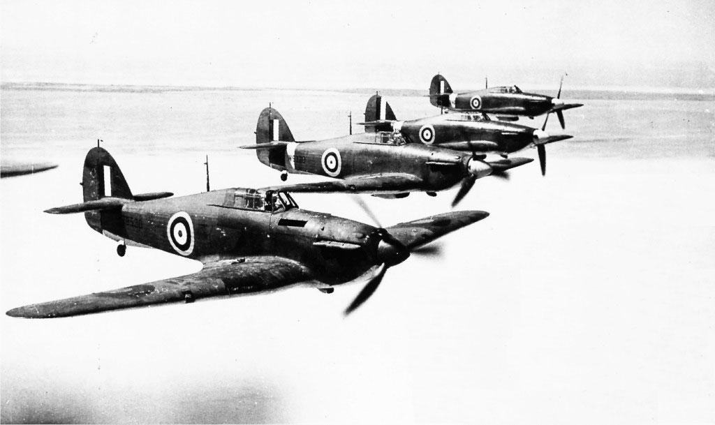 Hawker Hurricane I RAF Z3530 and W9329 Takoradi Ghana 1941 01