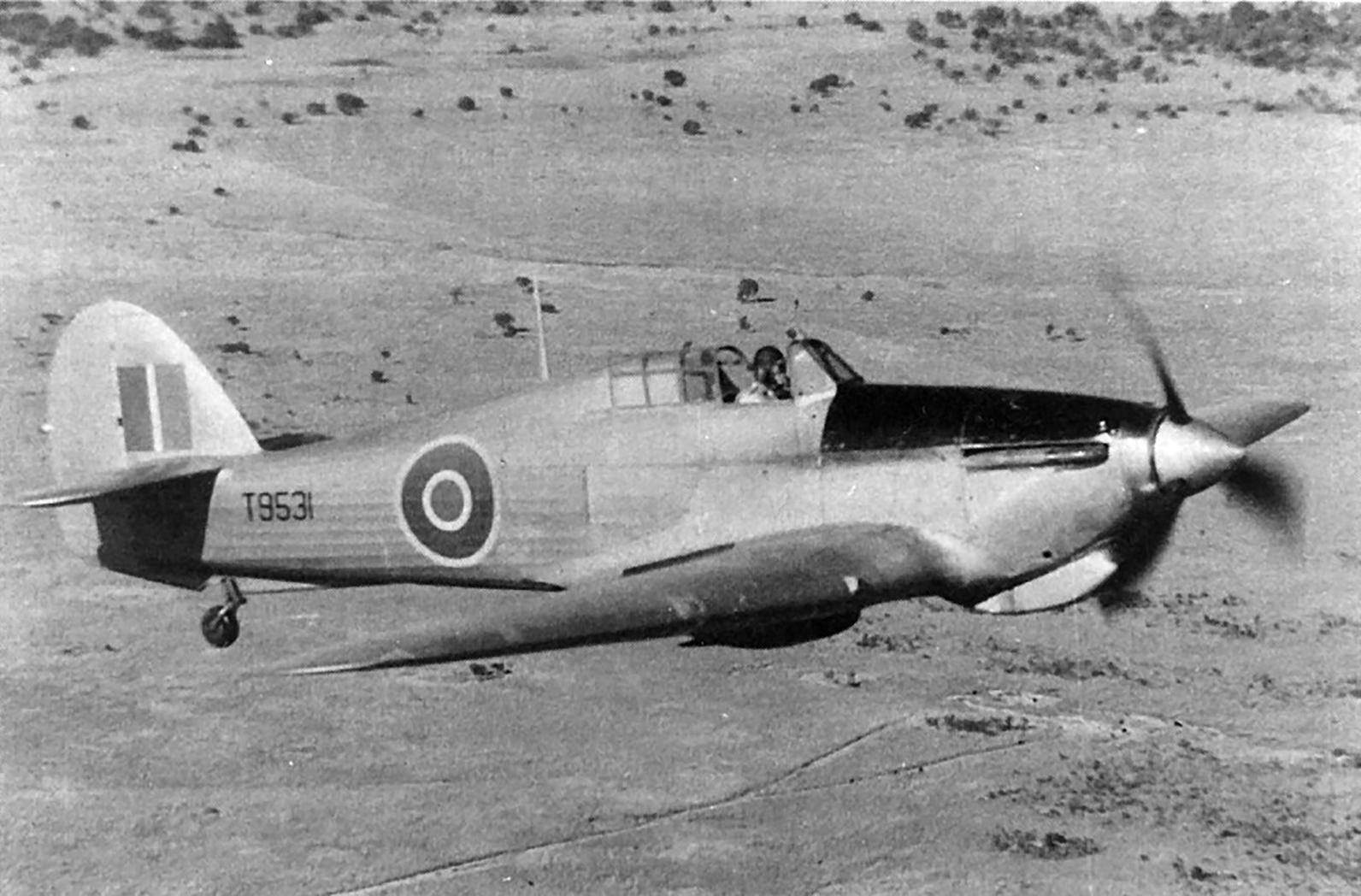 Hawker Hurricane I Trop RAF T9531 North Rhodesia 1941 01
