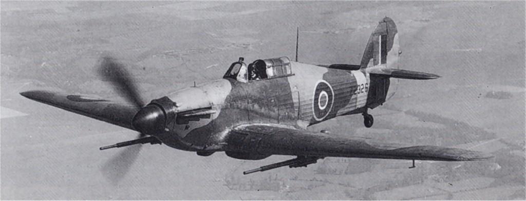 Hawker Hurricane IIa RAF Z2326 in flight 01