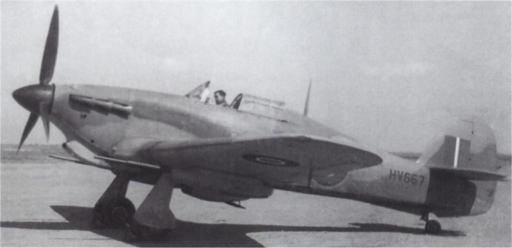 Hawker Hurricane IId Trop HV667 Egypt 1942 01
