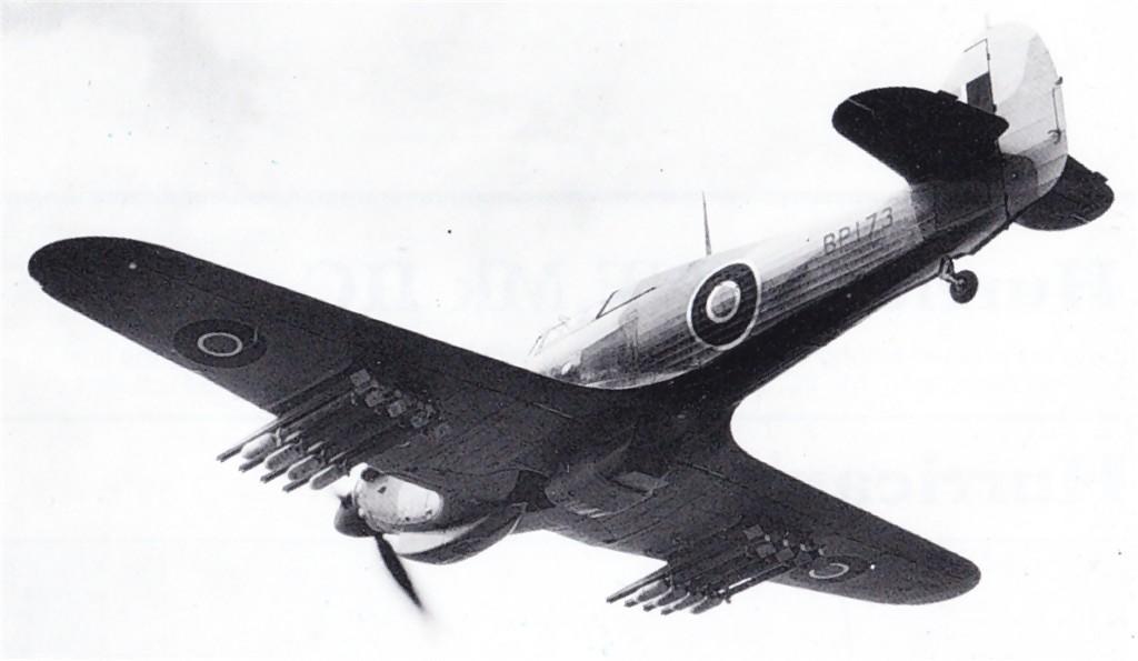 Hawker Hurricane IV Trop RAF BP173 North Africa 1942 02