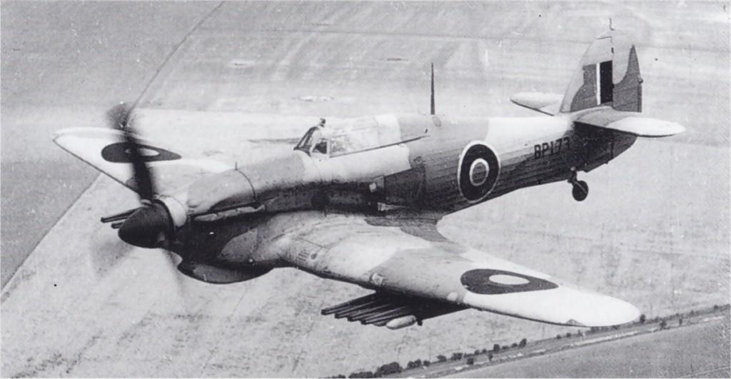 Hawker Hurricane IV Trop RAF BP173 North Africa 1942 03