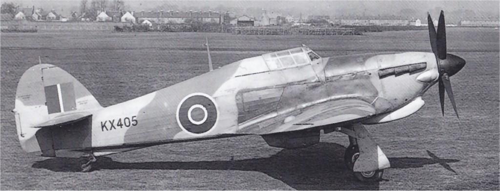 Hawker Hurricane V Trop RAF KX405 01