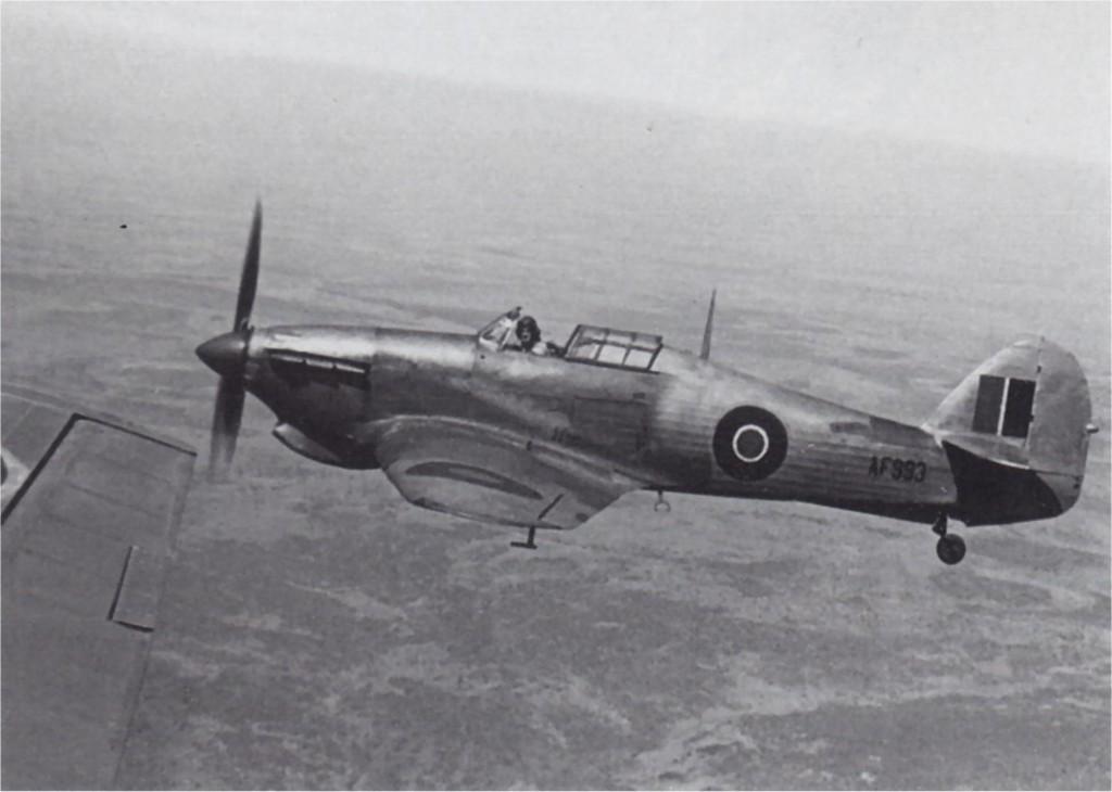 Hawker Hurricane X Trop RAF AF993 North Africa 1942 01