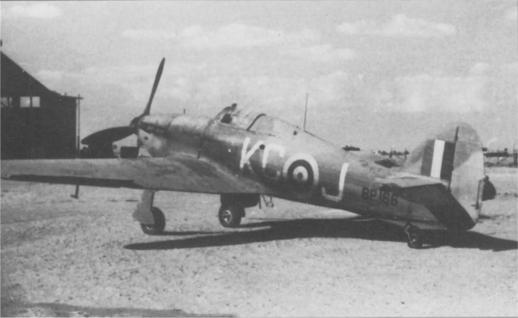 Hurricane IIb RAF 238Sqn KCJ BP166 North Africa 1941 01